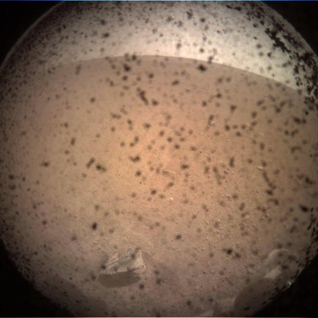 Primera Imagen de la Misión InSight en Marte