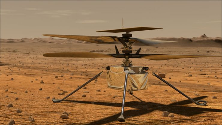 El Mars Helicopter Ya Tiene Nombre: Ingenuity :: NASA EN ESPAÑOL