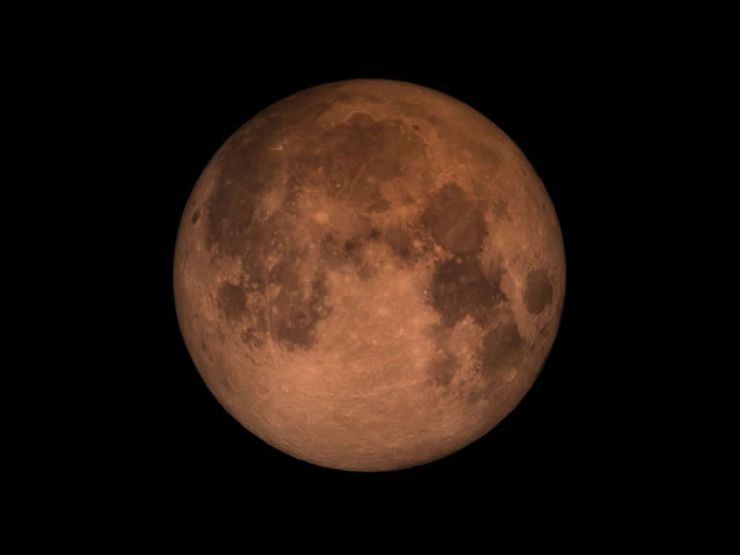 La Noche del 20 al 21 de Enero se Producirá un Eclipse Lunar Total y una Superluna de Sangre