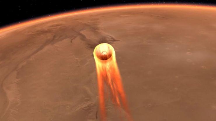 Todo Listo Para la Llegada a Marte de la Misión InShight el Próximo Lunes