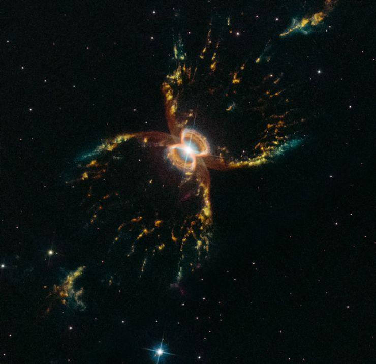 El Hubble Celebra su 29 Aniversario con una Espectacular Imagen