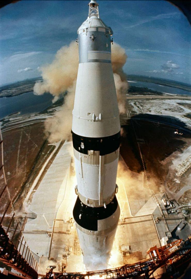 lanzamiento Apolo 11