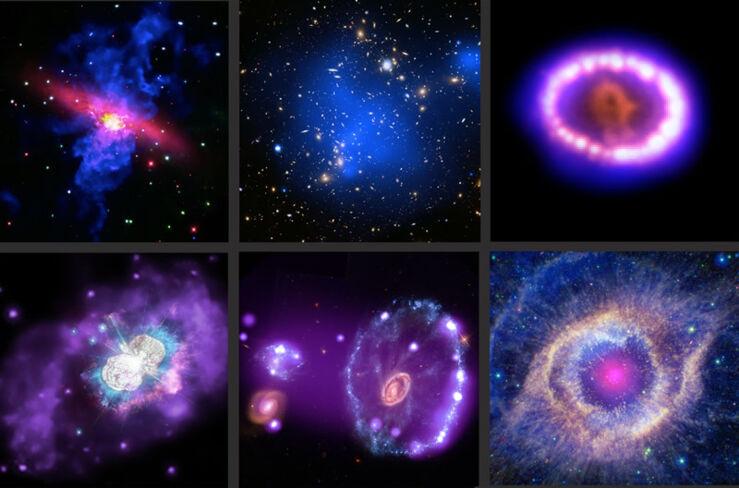 Seis Tesoros del Cosmos Observados Por el Chandra