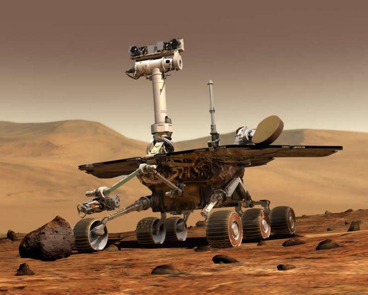 Se Cumplen 15 Años de la Llegada de Opportunity a Marte