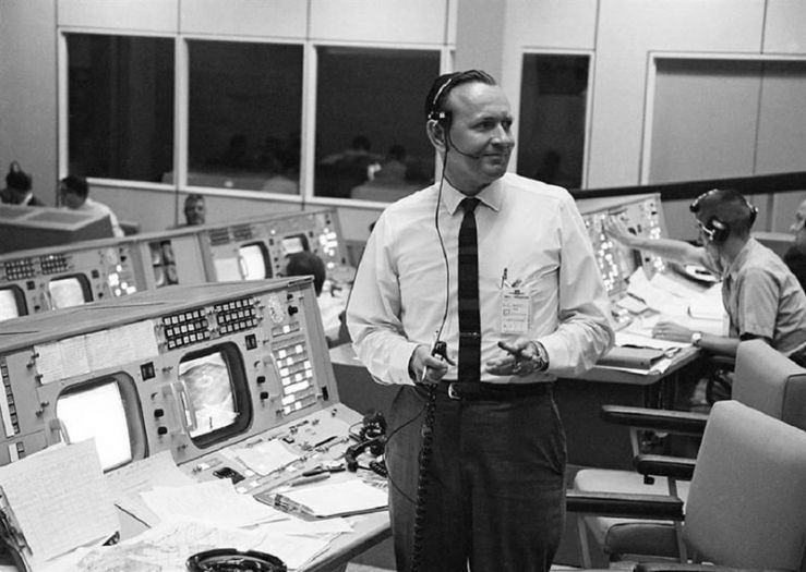 Adiós a Chris Kraft, Primer Director de Vuelo de la NASA